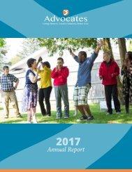 Advocates 2017 Annual Report