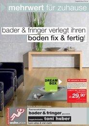 Partner der Wohnunion-Gruppe - Bader & Fringer