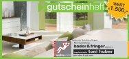 gutscheinheft €1.500,- - Bader & Fringer