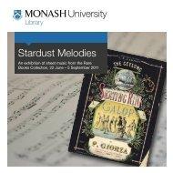 Stardust Melodies - Monash University