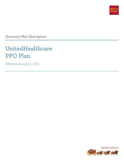 UnitedHealthcare PPO Plan - Teamworks at Home - Wells Fargo