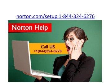 Norton.com/Setup | 1 844-324-6276 | Norton Antivirus