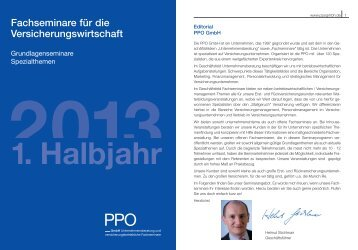 2013 1. Halbjahr - PPO GmbH
