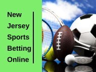 New Jersey Sports Betting Online