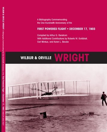 Published Writings of Wilbur and Orville Wright - NASA's History Office