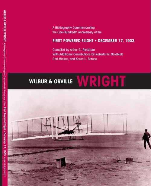 Published Writings of Wilbur and Orville Wright - NASA's
