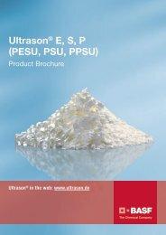 Ultrason E, S, P (PESU, PSU, PPSU) - Brochure - BASF Plastics Portal