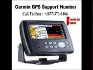 Call Garmin Nuvi Support Number +1877-370-8184 for help