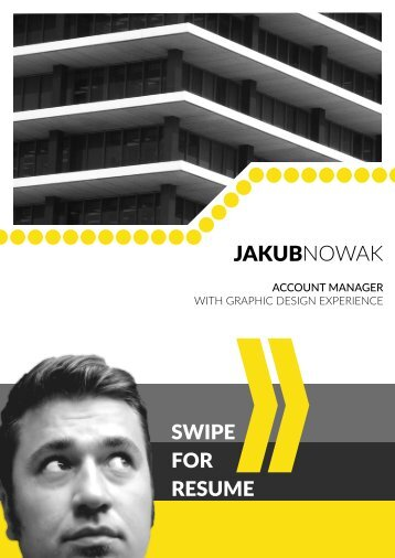 Jakub Nowak - resume and portfolio