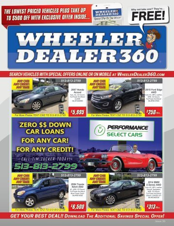 Wheeler Dealer 360 Issue 30, 2018