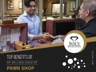 Pawn Shops in Overland Park- To Sell Gold Jewelry and Make Money
