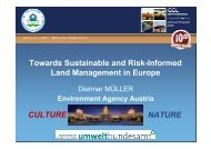 Towards Sustainable and Risk-Informed Land Management in ...