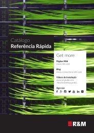 Catálogo Referência Rápida