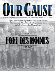 OUR CAUSE Magazine 2018
