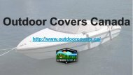 Boat Covers | Outdoor Covers Canada
