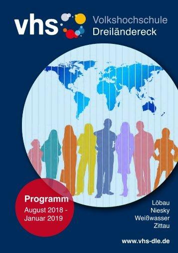 Herbstprogramm 2018 der Volkshochschule Dreiländereck