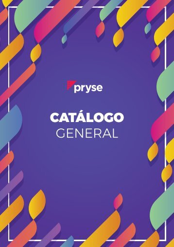 Catalogo general Pryse