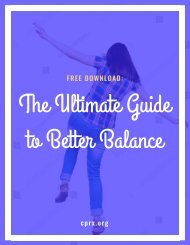 The Ultimate Guide to Better Balance