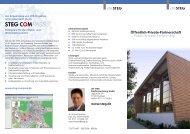 Öffentlich-Private-Partnerschaft Public-Private-Partnership - die STEG