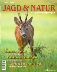 Jagd & Natur Ausgabe August 2018 | Vorschau