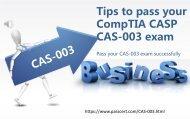 CompTIA CASP CAS-003 dumps