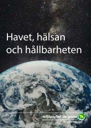 Havet, hälsan och hållbarheten, Miljöpartiet de Gröna Nynäshamn