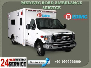 Medivic  Road Ambulance Service in Mayur Vihar  in low budget