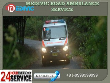 Best Medivic  Road Ambulance Services in Nehru Place