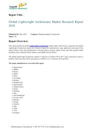 global-lightweight-architecture-market-research-report-2018-24marketreports