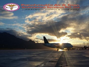 Advanced and Top Level Air Ambulance from Delhi with Doctor
