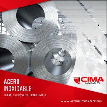 Brochure Cima Inoxidables 2018