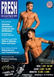 FRESH Magazin August 2018