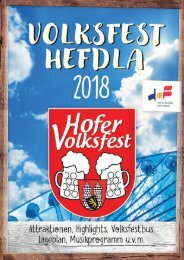 DES VOLKSFEST-HEFDLA 2018