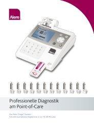 Professionelle Diagnostik am Point-of-Care - Alere