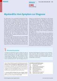 Myokarditis: Vom Symptom zur Diagnose - Berner Institut für ...