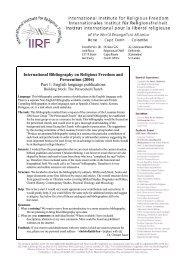 Part 1: English language publications - International Institute for ...