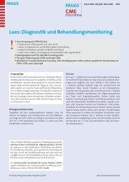 Lues - Berner Institut für Hausarztmedizin BIHAM - Universität Bern