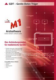 GDT Modul M1 - Kratzer EDV GmbH