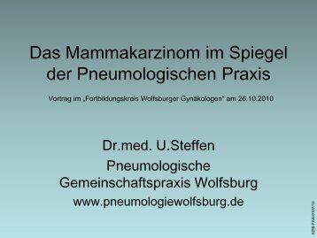 Das Mammakarzinom im Spiegel der Pneumologischen Praxis