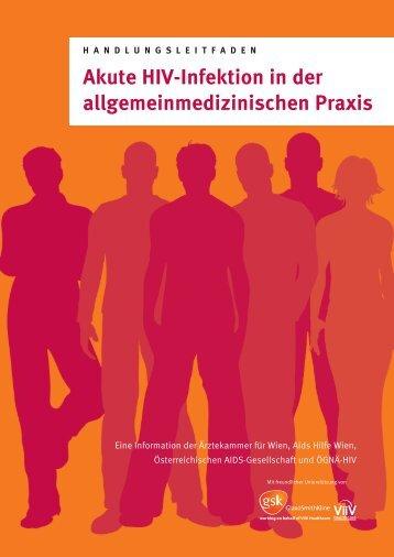 Akute HIV-Infektion in der allgemeinmedizinischen Praxis