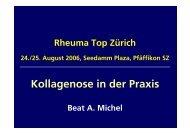 Kollagenose in der Praxis - Rheuma Schweiz