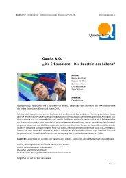 """Quarks & Co """"Die Erbsubstanz – Der Baustein des Lebens"""" - WDR.de"""