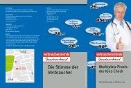 Marktplatz Praxis: der IGeL-Check - vzbv