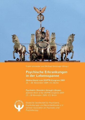 Psychische Erkrankungen in der Lebensspanne ... - DGPPN