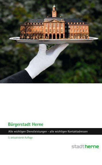 Bürgerservicebroschüre Dritte Auflage - Stadt Herne