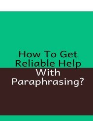How to Get Reliable Help with Paraphrasing