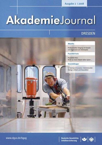 Ausgabe 2/2008 als PDF - Deutsche Gesetzliche Unfallversicherung