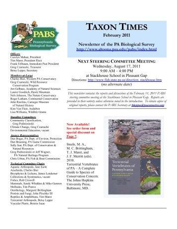 next steering committee meeting - Penn State Altoona ...