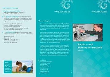 Elektro- und Informationstechnik - Hochschule Kempten