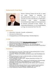 Rechtsanwalt Dr. Florian Meyer - juravendis Rechtsanwälte